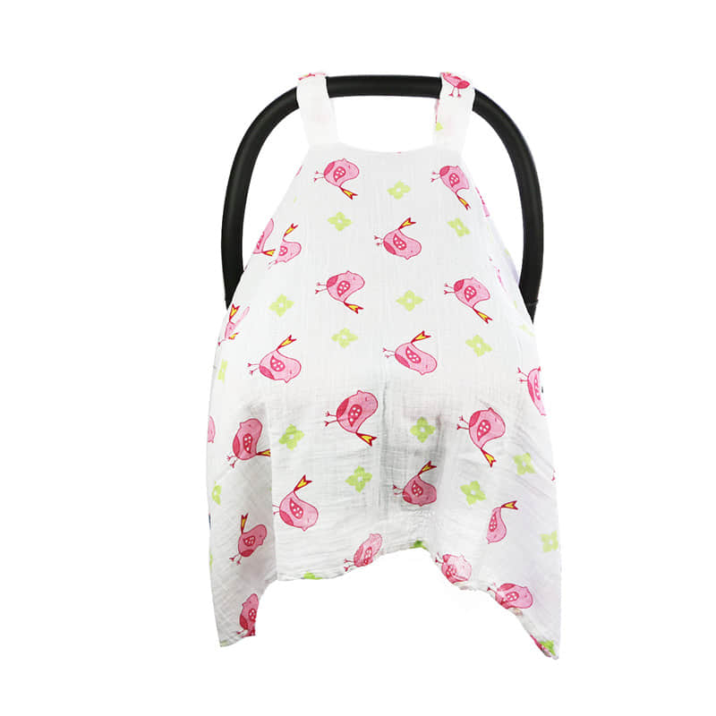 baby muslin carseat cover